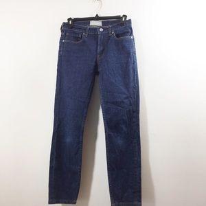 Everlane Jeans - Everlane Midrise Medium wash Ankle Denim Jeans